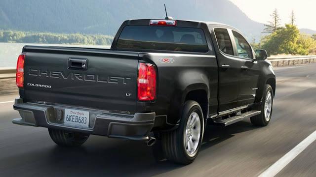Nova Chevrolet S-10 (Colorado) 2021 - traseira
