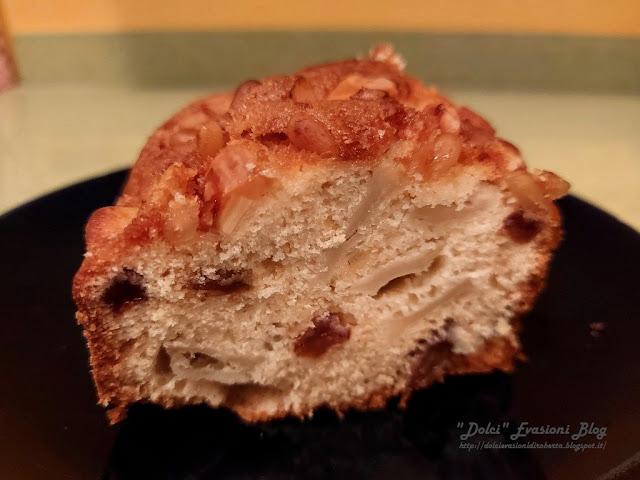 Torta di Meline selvatiche in Crosta di frutta secca