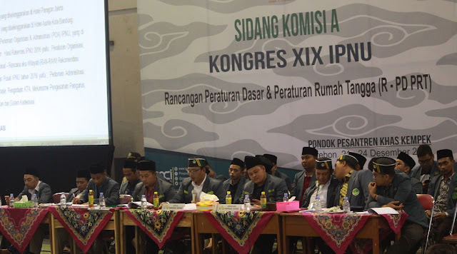 Sidang Pleno III; LPJ PP-IPNU 2015-2018 Diterima!