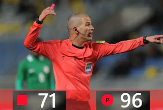 Victor Gomes 71 red cards