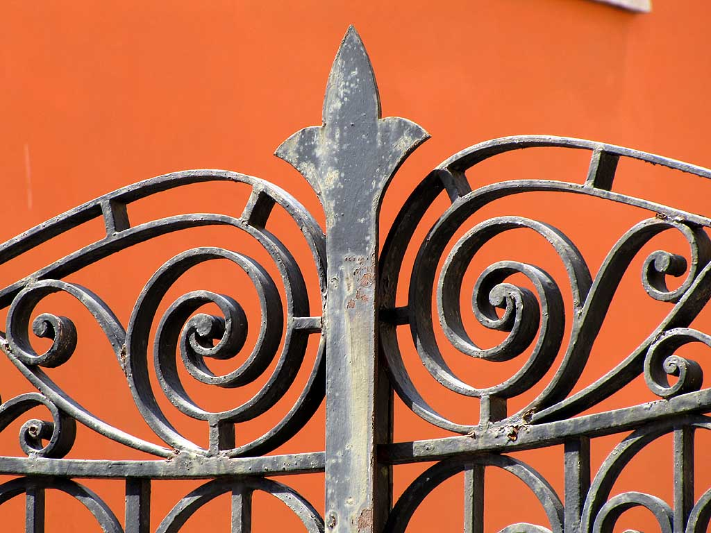 Spearhead wrought iron, Livorno