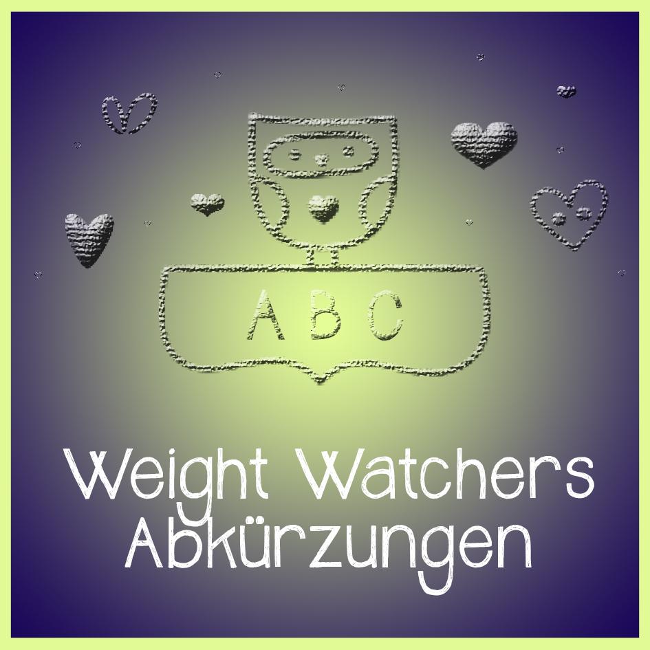 Weight Watchers Stillzeit