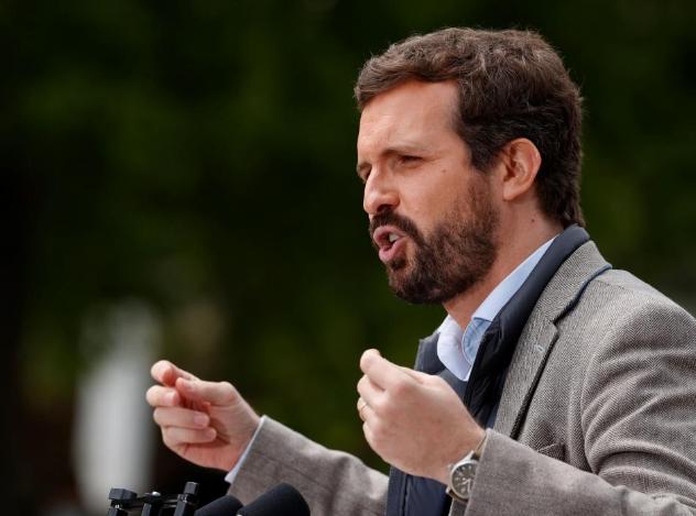 """Casado pide el cese de Marlaska tras llamar al PP """"organización criminal"""""""