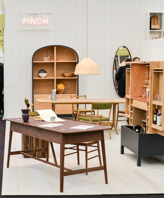 Wood furniture by Pinch at Decorex during London Design Festival 2016 #LDF16
