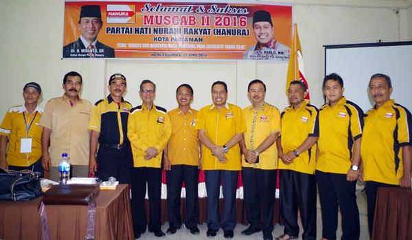 Pimpin Kembali Hanura, Edison Trd Siap Maju Calon Walikota