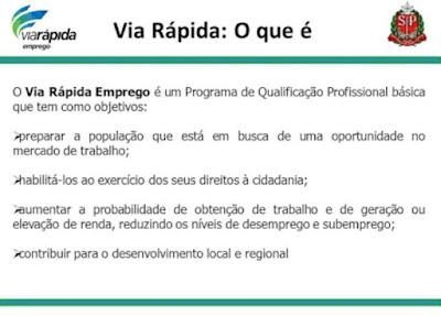 CARRETA DO VIA RÁPIDA EMPREGO CHEGANDO EM REGISTRO-sp