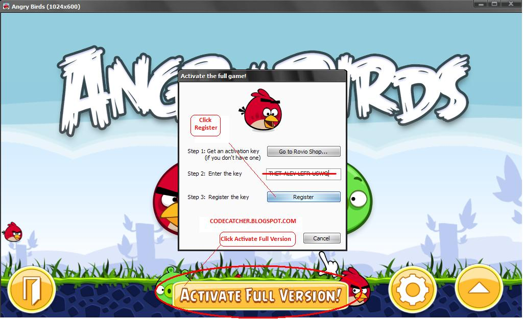Angry birds fully cracked final and complete pack param36559