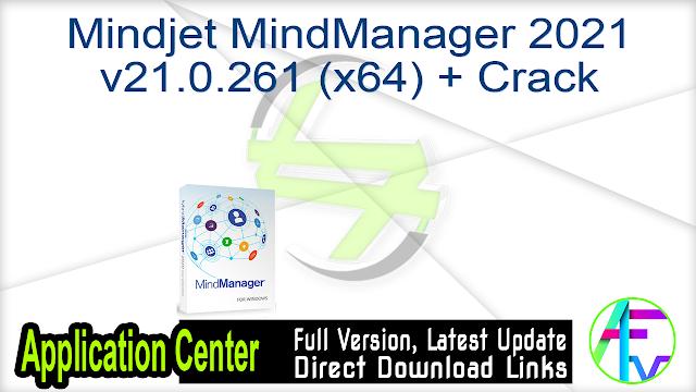 Mindjet MindManager 2021 v21.0.261 (x64) + Crack