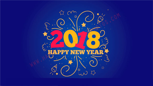 Free and Hd Wallpapers for Happy New Year 2018