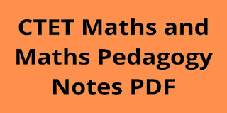 CTET Math Pedagogy in Hindi PDF