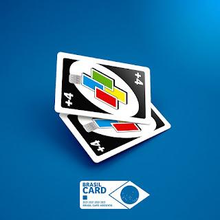 Adesivo para Cartão +4 Uno