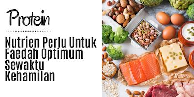PROTEIN: Nutrien Perlu Untuk Faedah Optimum Sewaktu Kehamilan