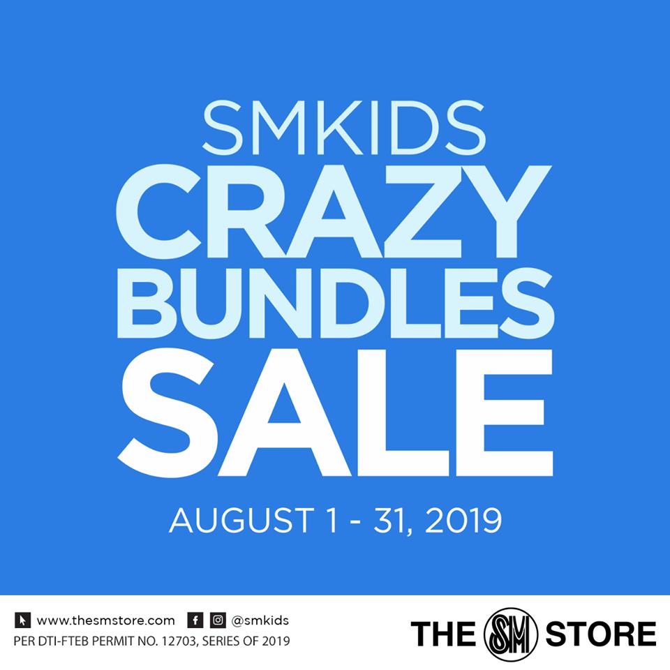 SM Kids Crazy Bundles Sale - The SM Store Calamba - Laguna