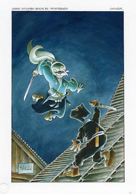 Usagi Yojimbo de Stan Sakai - historias de samurías y ninjas