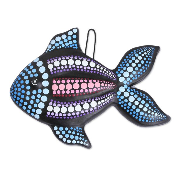 Fish Ceramic Wall Decor