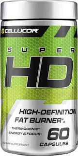 6).Cellucor Super-HD Fat Burner with Caffeine
