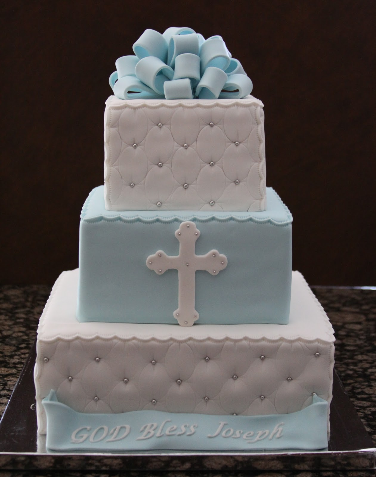 Boy Baptism Cakes Cake Ideas And Designs