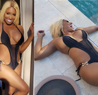 NeNe Leaked flaunts her banging clad body in sexy swimming suit photo