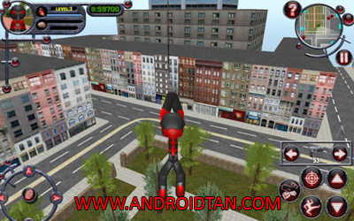 Download Stickman Rope Hero Mod Apk v1.2 (Unlimited Coins) Terbaru 2017