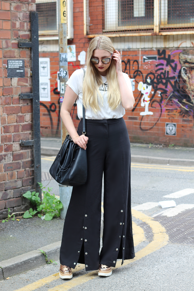 how to style popper trousers