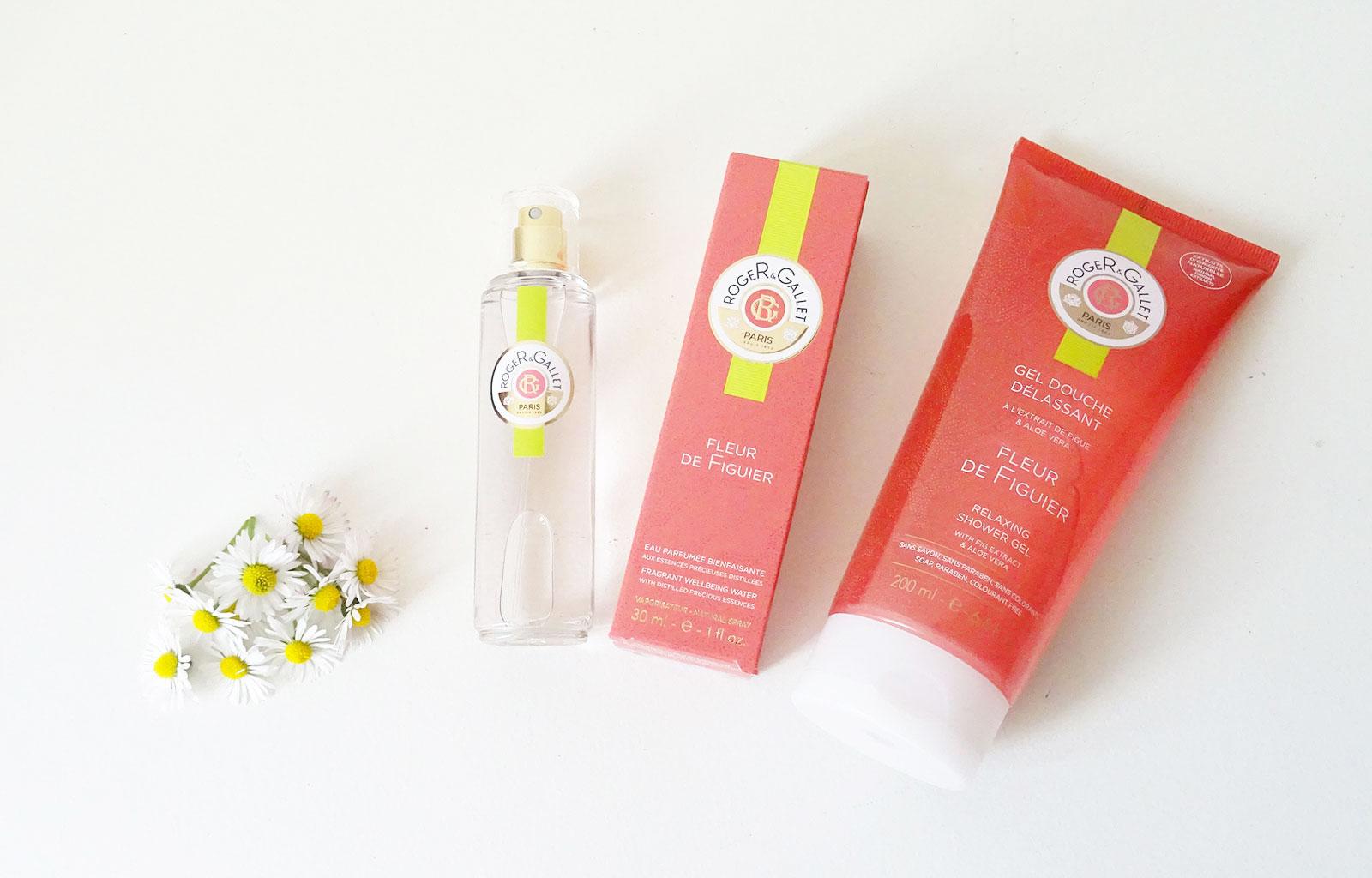 Eau bienfaisante gel douche délassant Fleur de figuier Roger&Gallet
