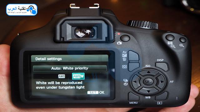 ما هي مكونات كاميرا كانون 4000d والمواصفات