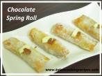 ChocolateSpring Roll