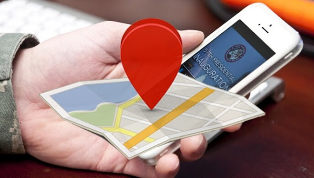 Free Tracker of a Cell Phone through the Number