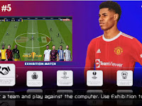PES 2022 PPSSPP English Version CV1 CONCACAF Gold Cup 2021 Edition & Update Transfer And New Kits