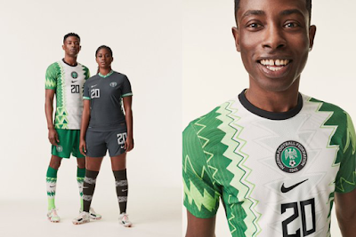 Nike, NFF Unveil New Super Eagles Jersey