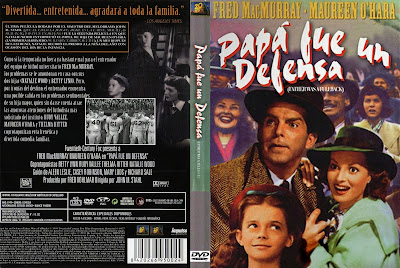 Carátula dvd: Papá fue un defensa (1949)