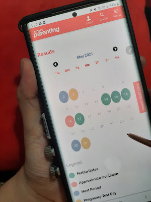 pregnancy using an ovulation calendar