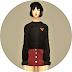 Batwing Sleeve Sweater_가오리 소매 스웨터_여자 의상