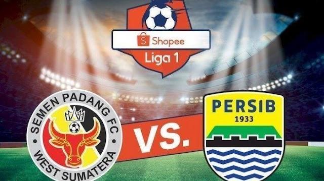 Hasil Pertandingan Liga 1, Semen Padang vs Persib Bandung