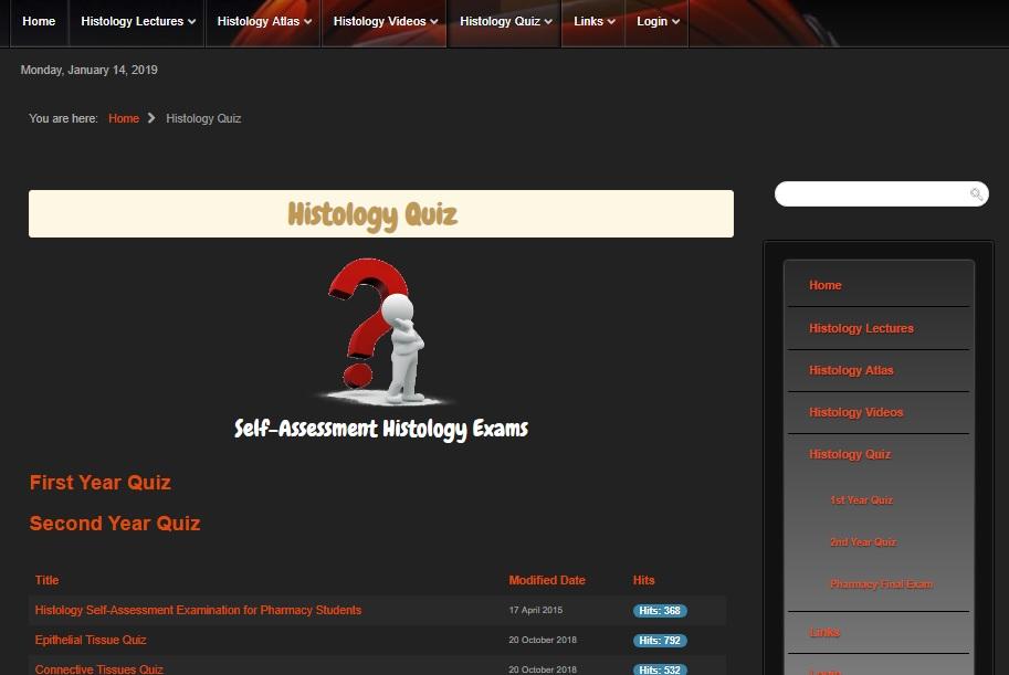 Histology MCQ Collection - Medic4arab com