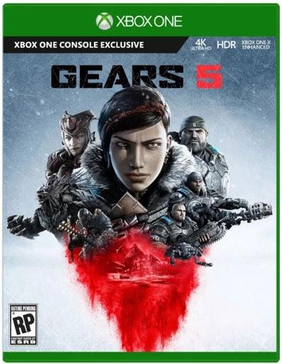 تسريب موعد إطلاق لعبة Gears of War 5 و الغلاف الرسمي يظهر لأول مرة