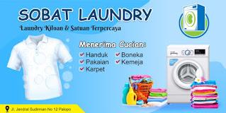 Download Banner Laundry Kiloan Format CorelDraw