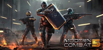 لعبة Modern Combat 5 eSports FPS مكركة, لعبة Modern Combat 5 مهكرة, تحميل لعبة Modern Combat 5 للاندرويد كاملة, تحميل لعبة Modern Combat 5 eSports FPS