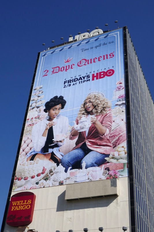 Giant 2 Dope Queens 2019 billboard