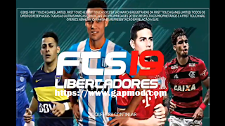 FTS 19 Libertadores Updated European teams Apk Data Obb