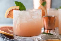 Epic Grapefruit Salty Dog Cocktail Recipe #healthydrink #easyrecipe #cocktail #smoothie