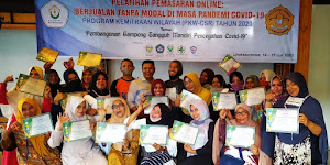 Cetak Pengusaha E-Commerce Handal, PKW-CSR 2020 Gelar Pelatihan Pemasaran Online