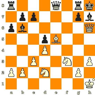 Les Blancs jouent et matent en 3 coups - Bent Larsen vs Hansen, Tonder, 1956