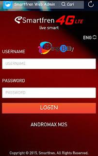 Smartfren Web Admin