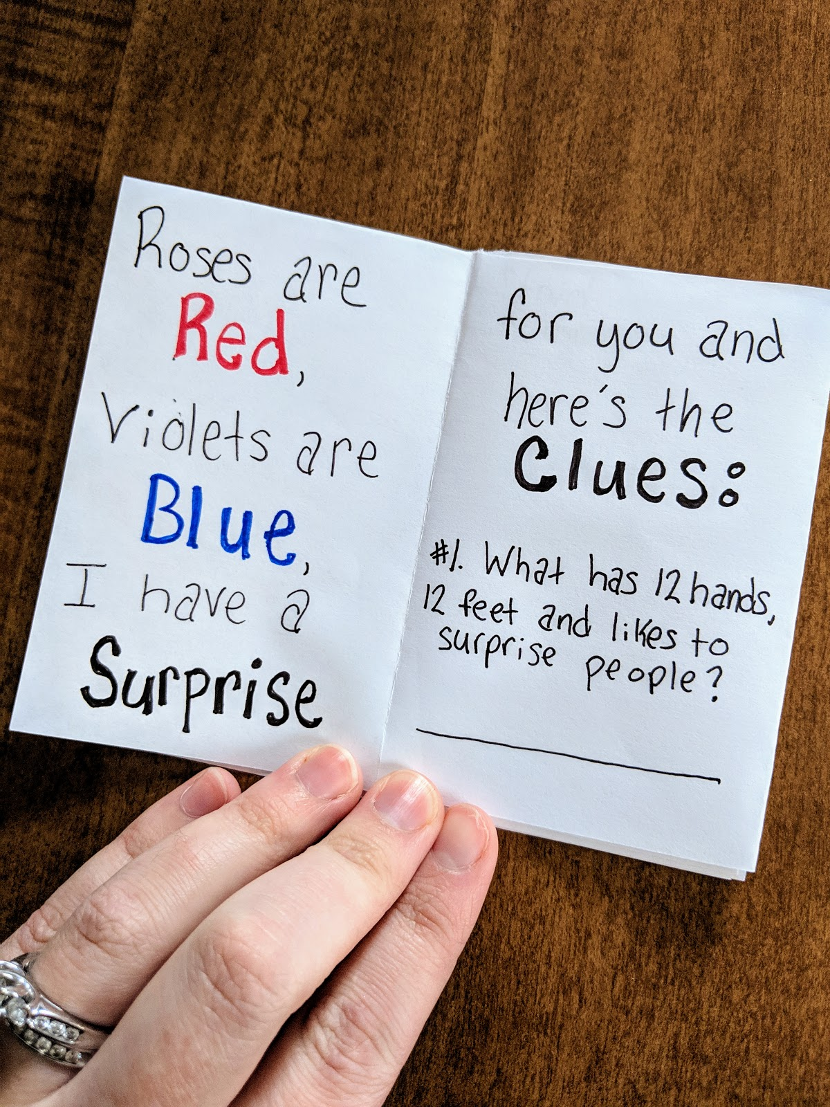 Roses Are Red Violets Are Blue Baby Announcement : roses, violets, announcement, Pregnancy, Announcement, Clues