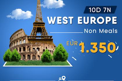 Paket Tour Eropa Barat Non Meals