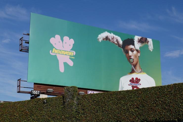 Heaven Marc Jacobs Spring 2021 billboard
