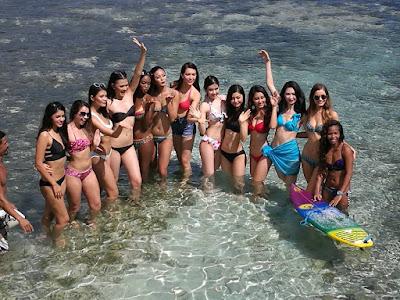 Miss Universe candidates