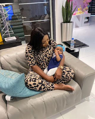 Photos of Ruth Kadiri's daughter Reign