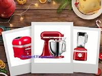 """Concorso Emmentaler DOP """"Mystery Nataler"""" : vinci gratis 21 prodotto KitchenAid (frullatori, bollitori, toaster e non solo)"""